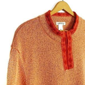 Orvis Extra Large 1/4 Zip Boxy Sweater